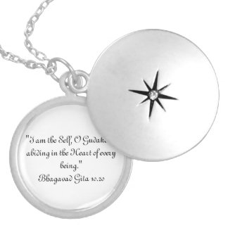 Bhagavad Gita 10.20 Necklace
