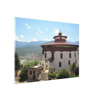 bhutan museum canvas print