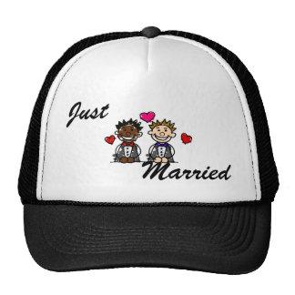 Bi-Racial Gay Couple Cap