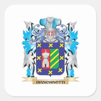 Bianchinotti Coat of Arms Stickers