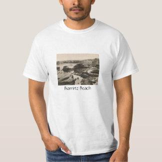 Biarrirtz beach france T-Shirt