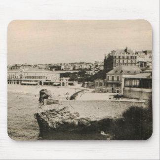 Biarritz - Casino on the beach Mousepads