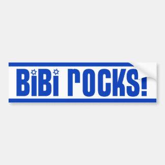 BiBi Rocks - Pro Israel Bumper Sticker