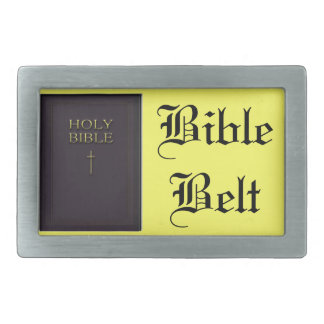 Bible belt belt buckle