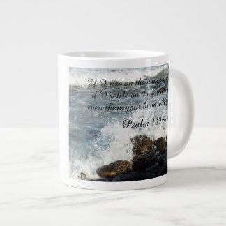 Bible quote Psalm 139:9-10 mug