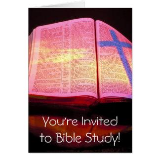 Bible Study Invitation