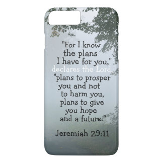 Bible Verse Jeremiah 29:11 I Know the Plans I Have iPhone 7 Plus Case