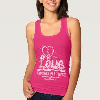 bible verses t-shirt Love endures forever