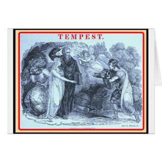 Bibliomania: Shakespeare The Tempest Card
