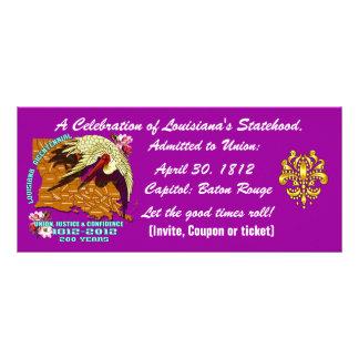 Bicentennial Louisiana Important See Notes Below Full Colour Rack Card