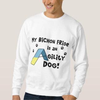 Bichon Frise Agility Dog Sweatshirt
