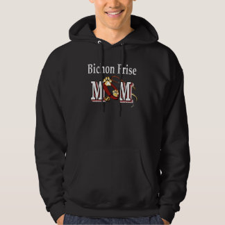Bichon Frise Mom Gifts Hoodie