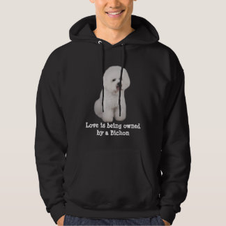 Bichon Frise Precious Unisex Hooded Sweatshirt