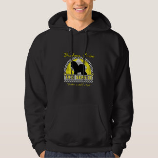 Bichon Frise Taxi Service Hoodie