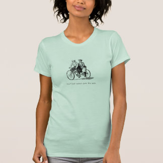 Bicycle Built for Two Couples Shirt 1