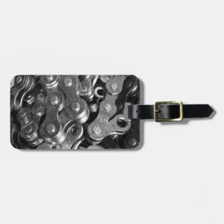 Bicycle Chain Links Luggage Tag