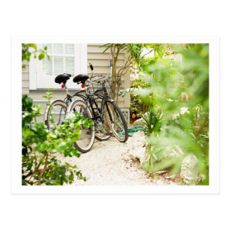 Bicycle Cycle Bicycling Cycling Miami Florida Postcard