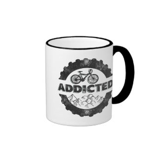 Bicycle Cycling Addicted Coffee Mug