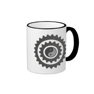 Bicycle Cycling Yin Yang Mug