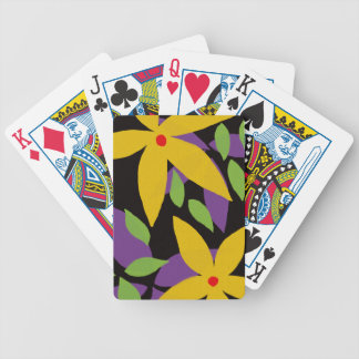 Bicycle Floral Design Playing Cards