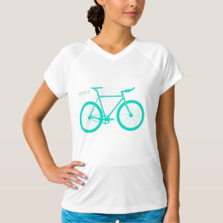 Bicycle Lover Tshirt green way tee