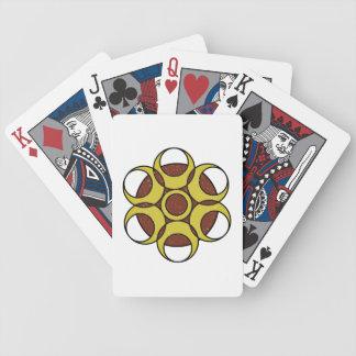 Bicycle Playing Cards GRUNGE CIRCLE LOGO