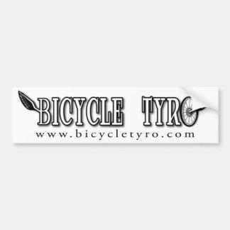 Bicycle Tyro Bumper Sticker