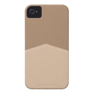 Biege Tan Simple Point Case-Mate iPhone 4 Case