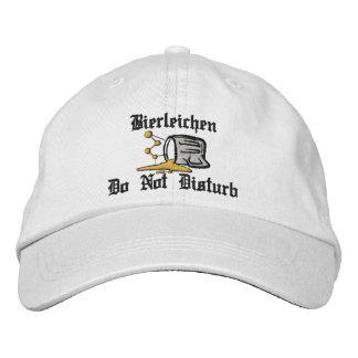 """Bierleichen """"Drunk"""" Do Not Disturb Embroidered Cap"""
