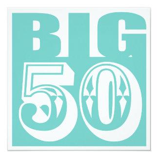 BIG 50 age birthday/anniversary party invitation