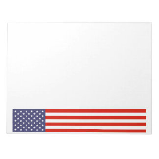 Big American flag note pads | Stars and stripes