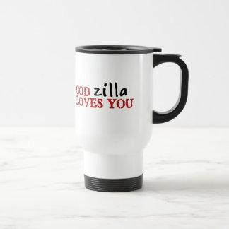 Big Ape Love Stainless Steel Travel Mug