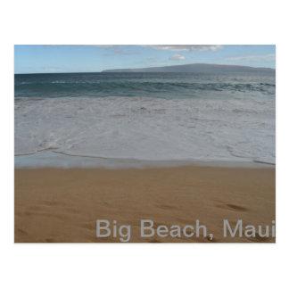 Big Beach, Maui Postcard