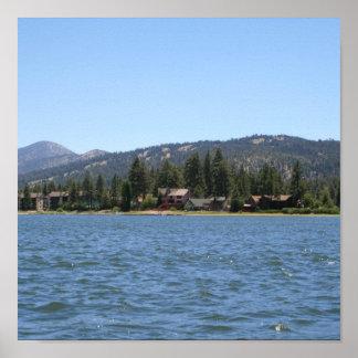 Big Bear Lake, CA Poster