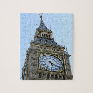 Big Ben Clock in London, England United Kingdom Jigsaw Puzzle