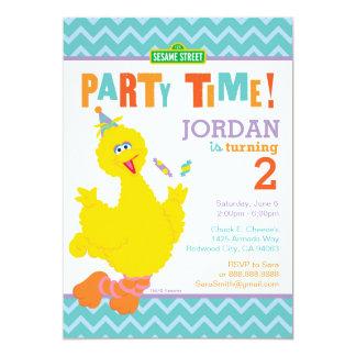 Big Bird Birthday 13 Cm X 18 Cm Invitation Card