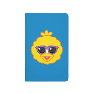 Big Bird Smiling Face with Sunglasses Journals