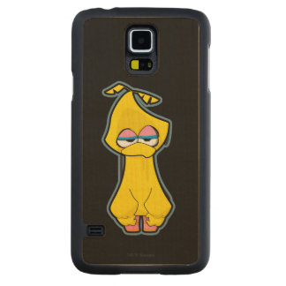 Big Bird Zombie Carved Maple Galaxy S5 Case