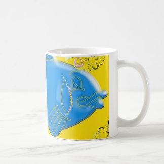 Big Blue Fish Mug