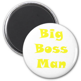 Big Boss Man 6 Cm Round Magnet