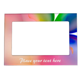 Big Bow Gift Box Magnetic Picture Frame