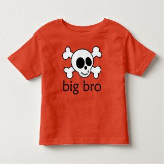 Big Bro Skull Crossbones Brother Boys T-shirt