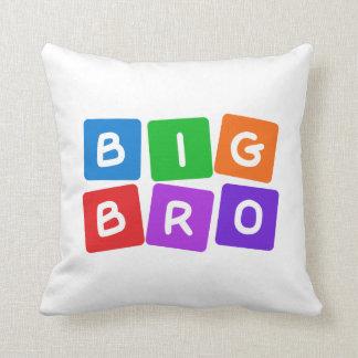 Big Bro throw pillow