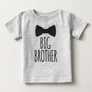 Big Brother Bowtie Baby T-Shirt
