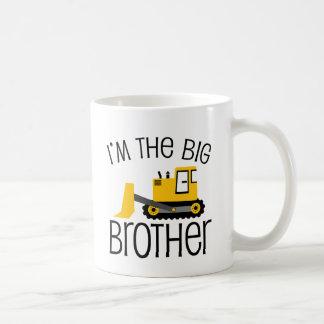 Big Brother Construction Front Loader Coffee Mug