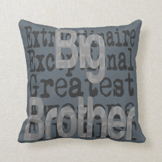 Big Brother Extraordinaire Throw Pillow