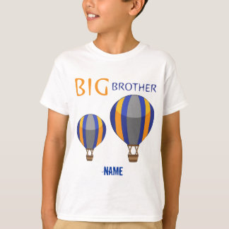 Big Brother Hot Air Balloon Personalized T-Shirt