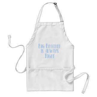 Big Brother Is Always Right Standard Apron