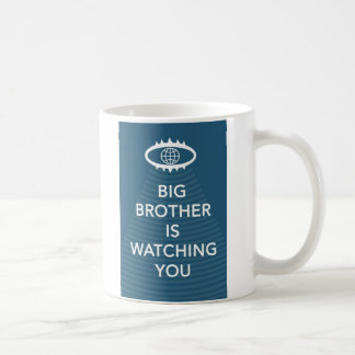 Big Brother Is Watching You 1984 Slogan Mug