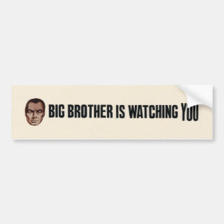 Big Brother is watching you! Bumper Sticker